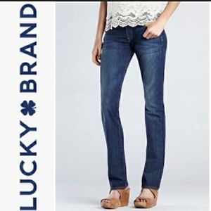 Lucky Brand Sofia Straight Jeans High Rise Trendy